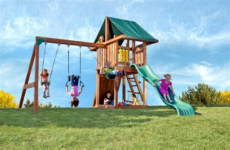 Kid Swing Set by Children S Swing Sets Circus