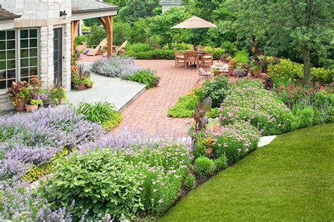 country landscape design french country landscape traditional garden chicago by k d landscape management