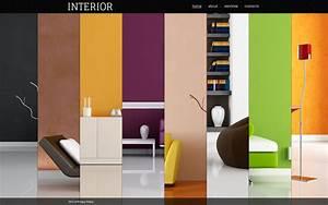 Interior Design Flash Template #40372