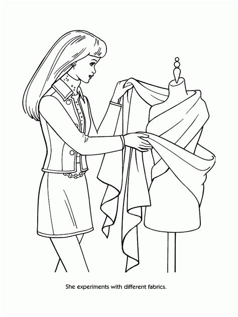 Coloring Clothes by Fashion Clothes Coloring Pages Coloring Home