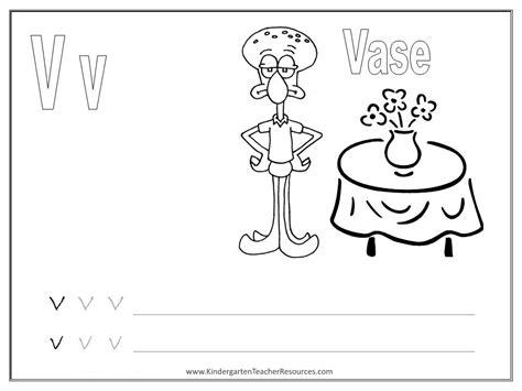 spongebob alphabet worksheets uppercase  lowercase