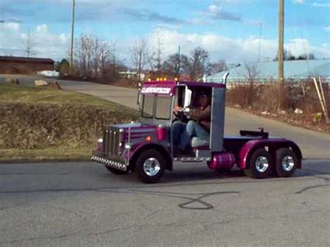 golf cart semi truck build  youtube