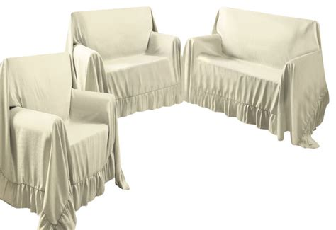 Sofa Loveseat And Chair Slipcover Sets by Kashi Home Venice Home 3 Sofa Loveseat Chair