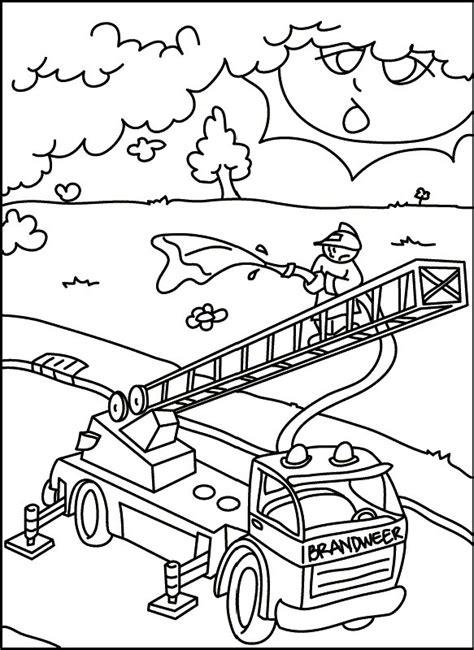 gambar gambar mewarnai mobil pemadam kebakaran 28 contoh
