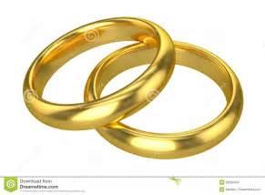 anneaux de mariage anneaux de mariage réalistes or images stock image 32566404