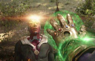 marvel cinematic universe   thanos rewind vision