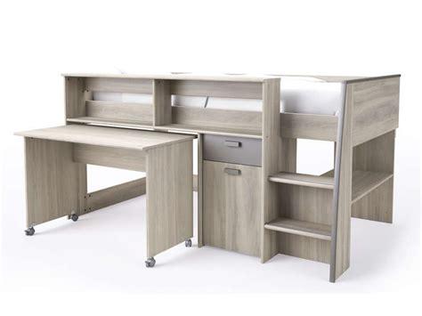 lit mezzanine bureau conforama lit mezzanine greg conforama table de lit a roulettes