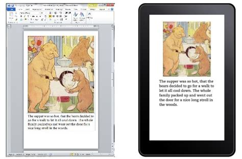 Word 2013 Book Template by Picture Book Templates Arrive For Kindle Authors And A