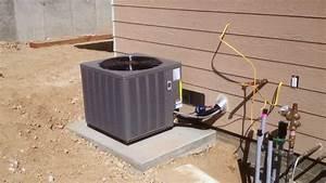 Rheem Heat Pump Install