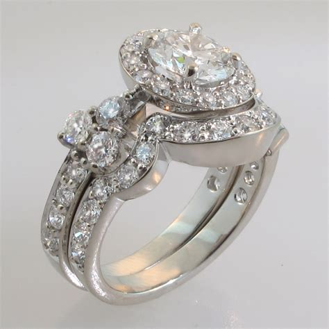 custom wedding rings bridal sets engagement rings vancouver - Bridal Wedding Ring Sets
