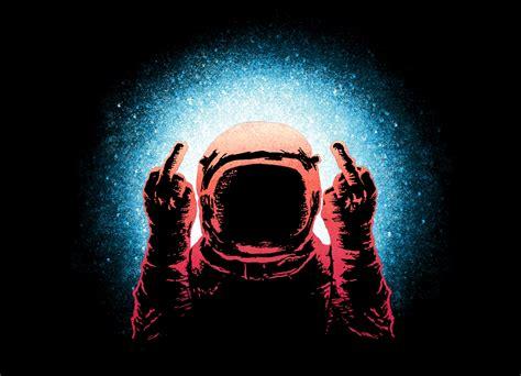 Negative Spaceman by Daniel Teres   Threadless