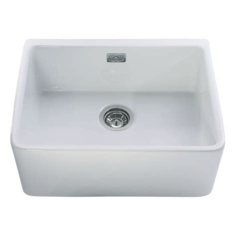 drain for kitchen sink cda kc11wh single bowl ceramic belfast sink 6949
