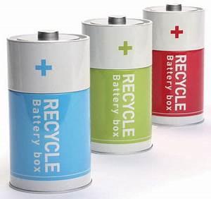 La Boite A Pile : bo te piles usag es vert pa design ~ Dailycaller-alerts.com Idées de Décoration