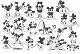 Coloring Pete Peg Leg Template Mickey Mouse sketch template