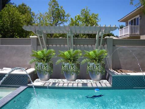 pool garden plants pool planters ideas for our new house pinterest