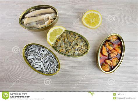 ready  eat stock image image  mackerel countertop