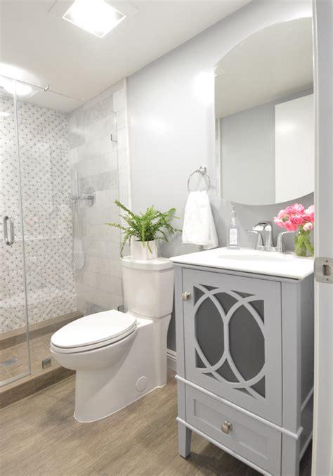 basement bathroom addition centsational style
