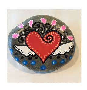 Hearts Painted On Rocks
