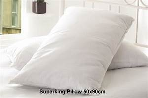 luxury goose down pillows in standard and super king sizes With discount goose down pillows