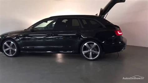 kpuod audi  avant tdi ultra   black edition black  derby audi youtube