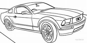 printable mustang coloring pages for kids cool2bkids With clic volvo sports car