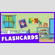 Learn Rooms Of The House  Talking Flashcards Youtube