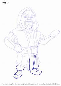 Learn How to Draw Wizard from Clash of the Clans (Clash of ...