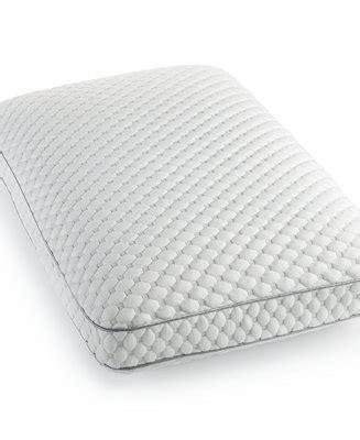macys memory foam pillow science by martha stewart memory foam gusset king
