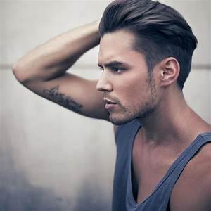 Cheveux En Arrière Homme : coupe de cheveux en arri re homme salon making of ~ Dallasstarsshop.com Idées de Décoration