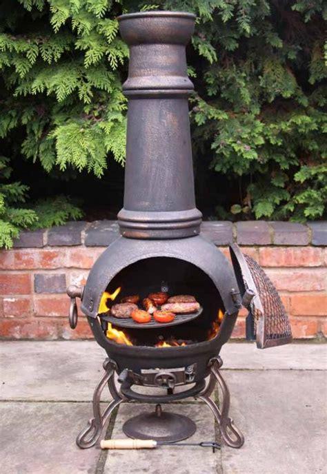 extra large toledo bronze cast iron chiminea fireplace