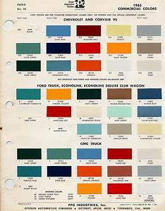 1964 Chevy Truck Interior Colors
