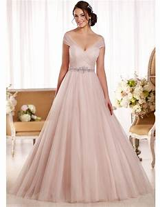 blush pink plus size wedding dress dress ideas With plus size blush wedding dresses