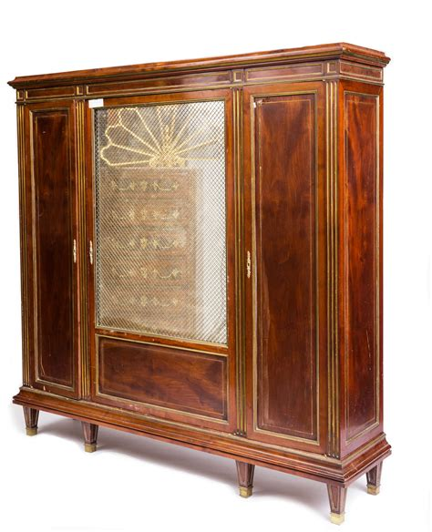 Second Bookcase by Second Empire Bookcase 19th Century Bookcase Sted