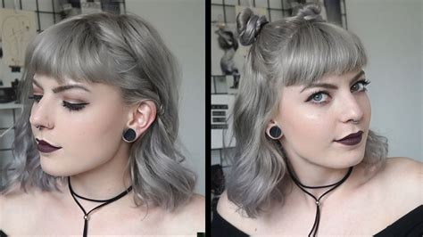 cute  easy hairstyles  short hair youtube