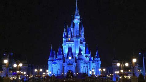Disney lights Cinderella Castle blue in honor of World ...