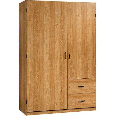 Sauder Wardrobe Storage Cabinet by Sauder Beginnings Wardrobe Storage Cabinet Highland Oak