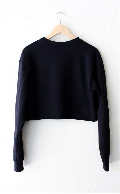 Lazy Oversized Cropped Sweater - NYCT Clothing