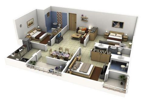 Best Bedroom 3 Bedroom Modern House Design Modern