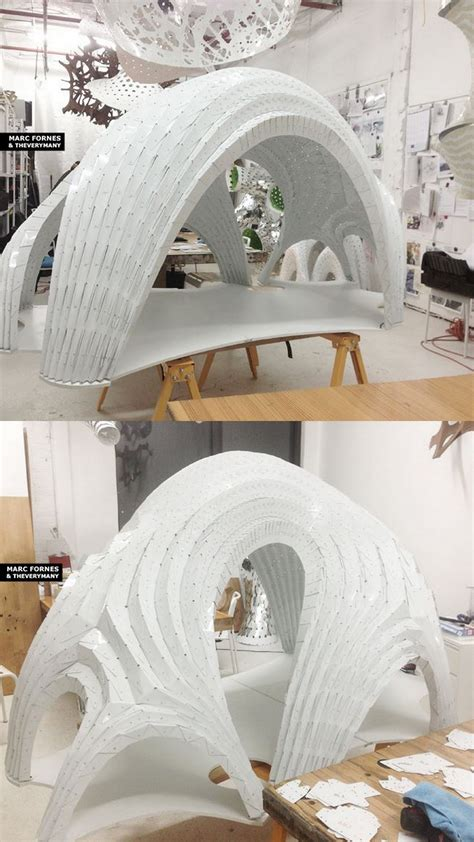 Pleated Shell 115 Scale Structural Model