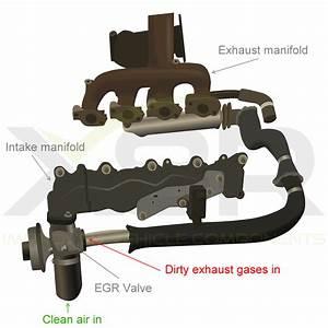 Egr Valve Delete Bypass Blanking Tube Kit For Ford Mondeo