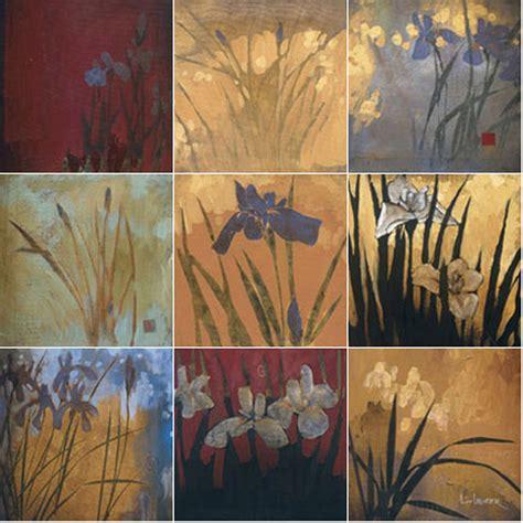 mural ceramic backsplash bath iris decor tile 21 ebay