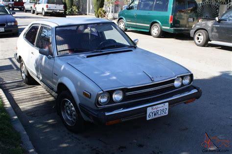 Honda Stick Shift by 1979 Honda Accord Coupe Stick Shift