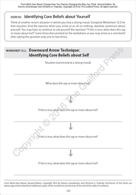 mind mood worksheets free worksheets library