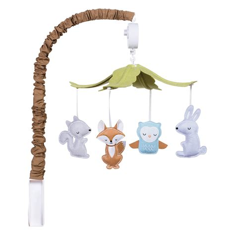 musical crib mobile trend lab trend lab woodland musical mobile baby
