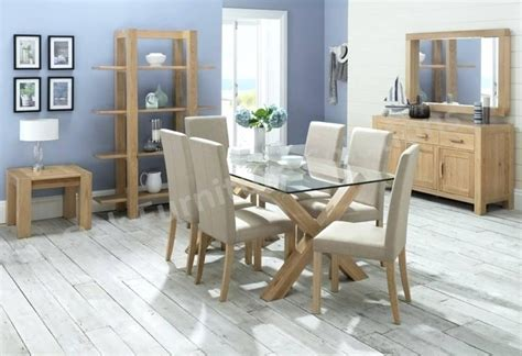 20 Photos Glass Dining Tables With 6 Chairs  Dining Room