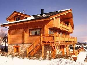 17 meilleures images a propos de chalets sur pinterest With maison en rondin prix 5 maison de standing en bois bordezac location de