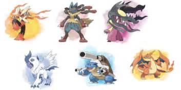 Legendary Pokemon Mega...