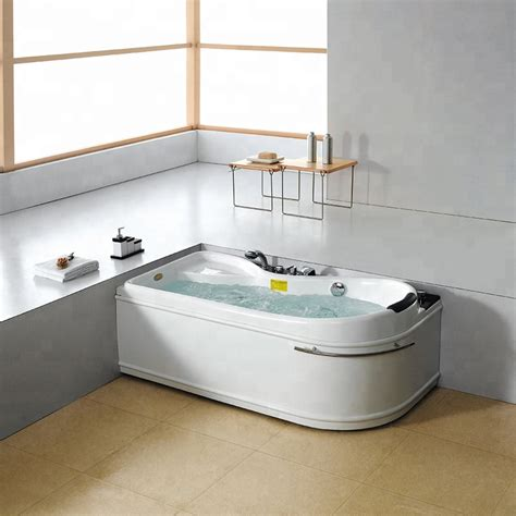 Sm6030 Rectangle Pool Indoor Acrylic Hot Cold Shower Tub