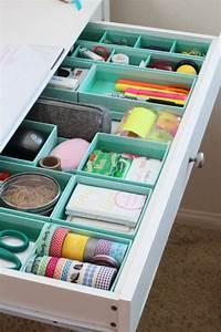 Rangement Sous Bureau : 17 id es copier pour organiser et ranger vos tiroirs ~ Teatrodelosmanantiales.com Idées de Décoration
