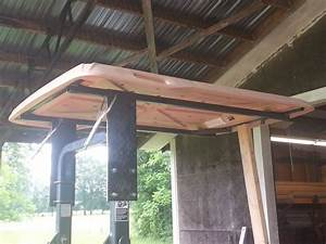 Just Made A Canopy Out Of An Old Golf Cart Top  With